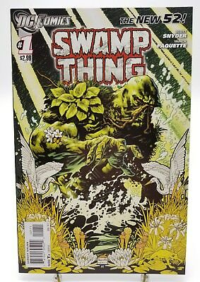 Swamp Thing #1 New 52 Volume 5 First Print November 2011 DC Comics