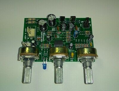 Microphone HQ. Low Noise Preamplifier Board With Gain Bass Treble Control MMP-R2