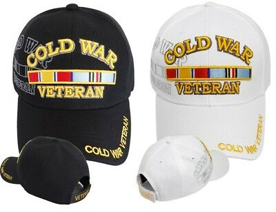9b062357693 Cold War Veteran Ball Cap US Army Navy USMC USAF USCG Military Korea Vietnam  Vet