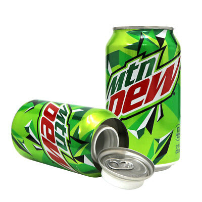 Mountain Dew 12oz Soda Can Diversion Safe Stash Secret Container Hidden