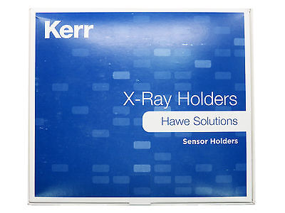 Dental Kerr film phosphor plate holder super-bite w/ ring posterior teeth