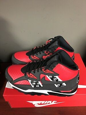 sale retailer 4a583 d9c73 NIKE AIR TRAINER SC High SOA Black Speed Red Bo Jackson ...