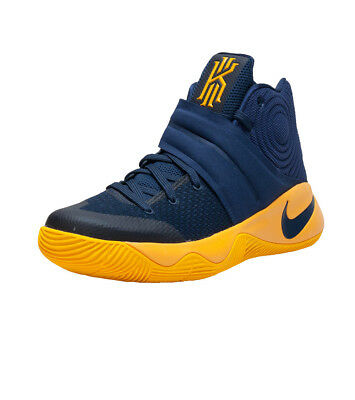 check out ec47a 21ab4 NIKE KYRIE 2   Navy/Gold   Size 12 (819583-447)