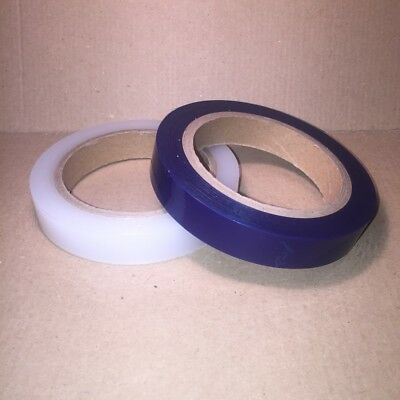 Low Tack Protection Tape 18mm x 100m Blue or Clear