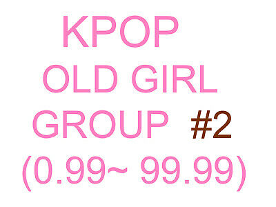 KPOP old girl group Promotion album SUPER SET 2 (Update finished)
