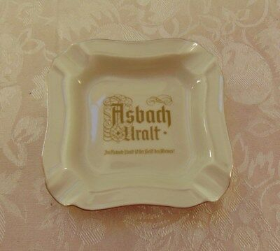 Asbach Uralt Porcelain Ashtray Made In Germany