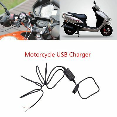 Portable Car Motorcycle USB Charger DC 12V to 5V 3A Power Adapter Charger Socket