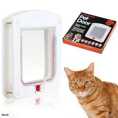 New 4 Way Locking Pet Door