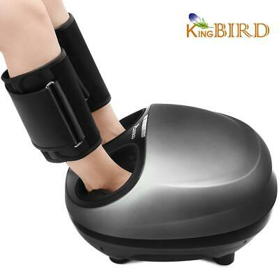 Electric Shiatsu Foot Massager Machine with Heat deep Kneading Air Compression