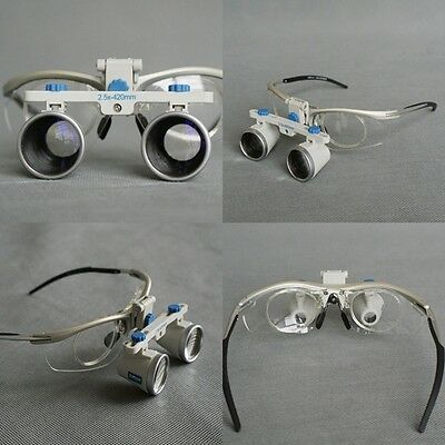 Zumax Titanium Frame Dental Binocular Loupes Surgical medical Magnification