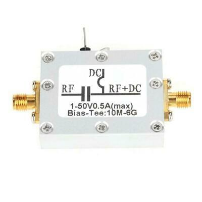 1pc Low Loss Radio Frequency Wideband Amplifier Coaxial Bias Tee 10MHz-6GHz