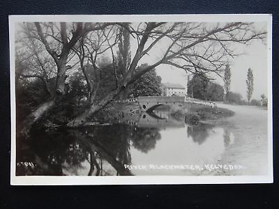 Essex KELVEDON River Blackwater & Bridgel - Old RP Postcard