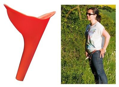 Stand Up Pee Female Urinal Toilet Outdoor Camping Travel Women Portable Device