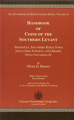 Pfj - Handbook Of Coins Of The Southern Levant