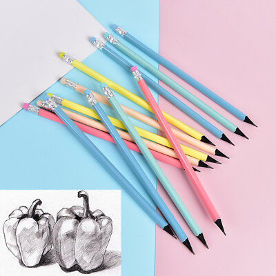 12pcs pencil Wood Standard pencils for drawing Stationery Office school supplies