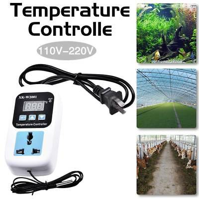 Electronic Thermostat Led Digital Temperature Controller With Socket US Plug