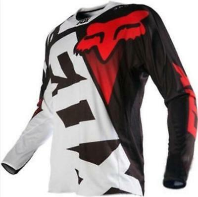 2018 Fox race Riding Jersey Men's Motocross/MX/ATV/BMX/MTB Dirt Bike ZZ