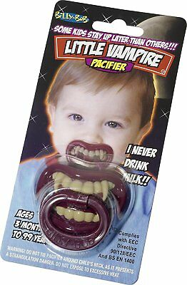 Billy Bob Lil Vampire Funny Dummy Pacifier