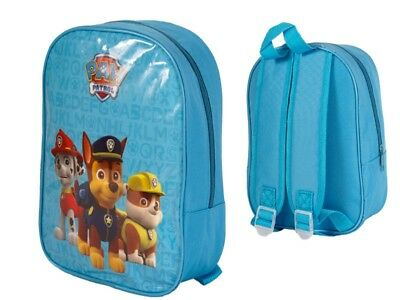 Large 41cm Paw Patrol Arch Backpack School Travel Bag Chase Marshall Rubble