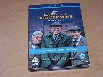 Last Of The Summer Wine - Series 13-14 - Complete (DVD, 2008, 3-Disc Set, Box Se