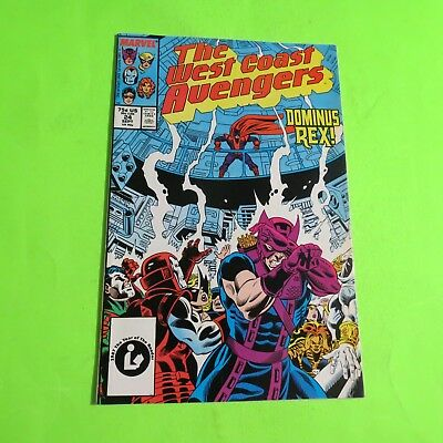 The West Coast Avengers #24 Marvel Comics Copper Age (1988) C1632