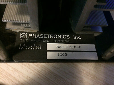 Phasetronics EZ1-1210-F High performance Silicon Controlled Rectifier Microcontr