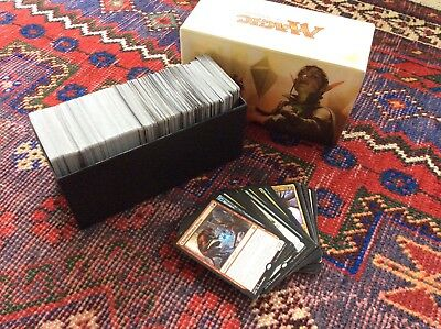 Magic The Gathering Playing Cards - Pack of 550 with over 40 rares and card box