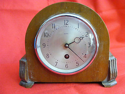 Mantle Clock 8 Days Run London 1920's or 1930's Art Nouveau,Art Deco,Vintage