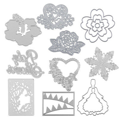 Various Metal Cutting Dies Stencil Scrapbook Embossing DIY Paper Card Craft