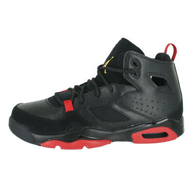 7330f16cee40b3 Jordan Flight Club 91 (Gs) Black Dandelion Red 555472 067 Kids Us Sizes