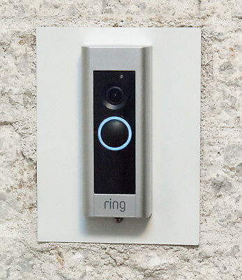 Installation Adapter Plate for Ring Pro Video Doorbell, 13 Colors