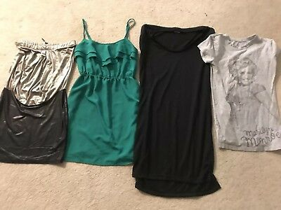Lot Of Four Dresses & Top Size Small