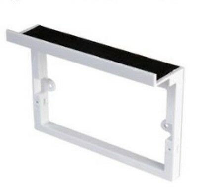 Mobile Phone Tablet Shelf for Mains Outlet USB Double Charger Sockets