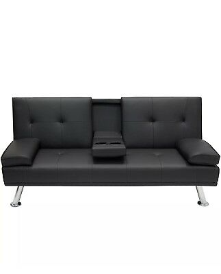 Couch Recliner Sofa Bed With Cup Holders Hot 399 95