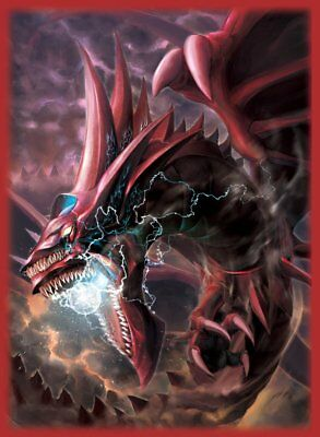 Yugioh Card Protector Slifer The Sky Dragon 50 Sleeves 62x89mm