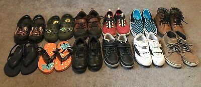 02d91dd1af59 GUC Toddler Boy s Shoes Sneakers Sandals Water Shoes Size 10   11 - LOT of  12