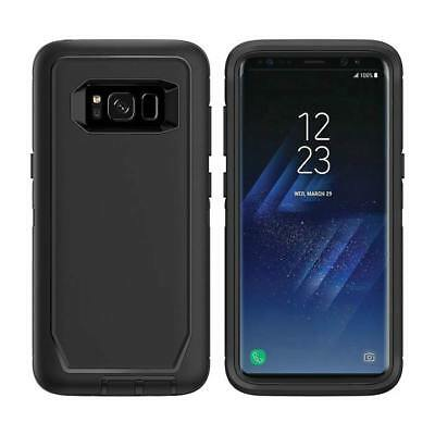 For Samsung Galaxy S8 Plus Defender Case Cover with Belt Clip & Screen Protector