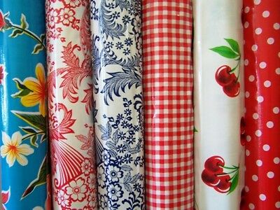 New Mexican Oilcloth Fabric PVC Tablecloth Waterproof Width 120 cm Choose Design