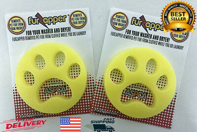 2 PACK - PET OWNERS-Must Have a FurZapper- Pet Hair Remover for Laundry