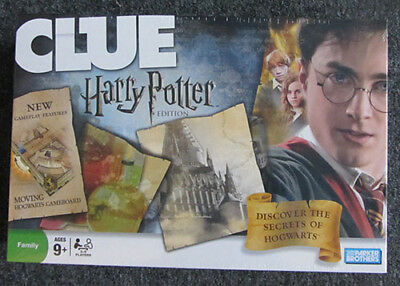 Harry Potter Edition Of The Classic Clue Board Game, Brand New And Still Sealed