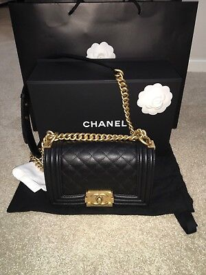 22edd22e540a CHANEL YELLOW QUILTED Lambskin Small Boy Bag -  5