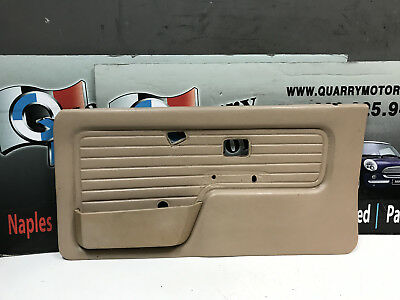 BMW DOOR PANEL & HANDLE RIGHT E30 318i 325i COUPE & CONVERTIBLE 86-92 OEM