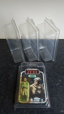 MOC Protective Clamshell Display Case For Carded Star Wars Vintage & Modern +