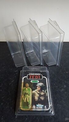 Star Wars MOC Action Figure Display Cases Vintage & Modern + More Carded Lines