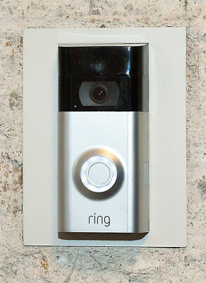 Installation Adapter Plate for the Original Ring Video Doorbell, 13 Colors