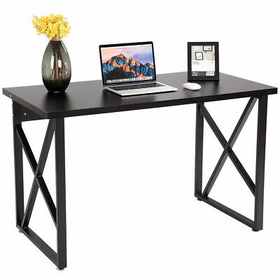 Computer Desk PC Laptop Table Metal Leg Writing Study Workstation Furniture New