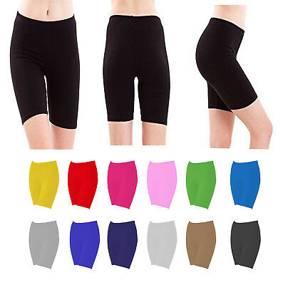 Ladies Lycra Cycling Shorts Dancing Shorts Lycra Leggings Active Casual Shorts