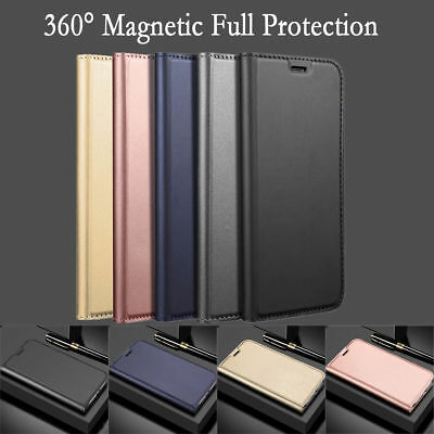 For Xiaomi Redmi Note 6 Pro/4X/5 Plus Magnetic Wallet Cover PU Leather Flip Case