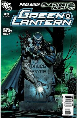 GREEN LANTERN #43 - 1st appear of the Black Lantern Corps led by Black Hand