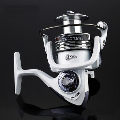 Ball 14BB Bearing Fishing Spinning Reel Right Left Hand Saltwater Freshwater HC